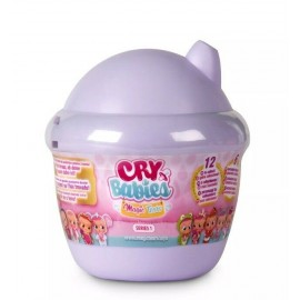 Mini Cry Babies Magic Tears Bambole in Capsula Colore Viola di IMC Toys