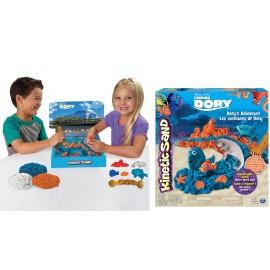 Kinetic Sand Set di Gioco alla Ricerca di Dory - Dory's Adventure -completo di accessori