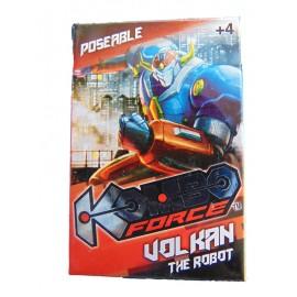 Kombo Force -  Mini Action Figure KOMBO FORCE VOLKAN THE ROBOT