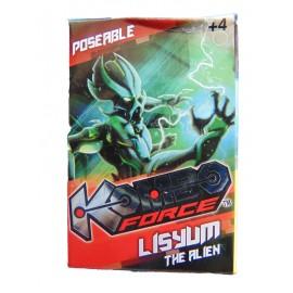 Kombo Force -  Mini Action Figure  KOMBO FORCE LISYUM THE ALIEN