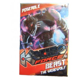 Kombo Force -  Mini Action Figure   KOMBO FORCE BEAST THE WEREWOLF