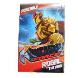 Kombo Force -  Mini Action Figure  KOMBO FORCE ROGAL THE KING