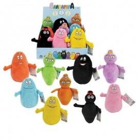 Barbapapà Peluche 20 cm serie completa 9 personaggi di Giochi Preziosi BAP09000