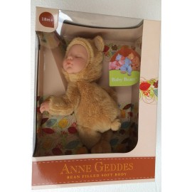 New  Anne Geddes , Bambola- ORSO CHIARO cm.23 BABY BEARS