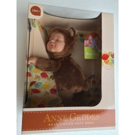 New Anne Geddes , Bambola- ORSO cm.23 BABY BEARS