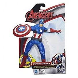 HASBRO Marvel Avengers Action Figure Battlers Captain America B1202 B2589