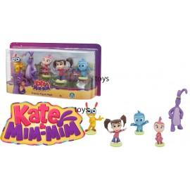 Giochi Preziosi - Kate & Mim Mim - Tach - Boomer - Lily - Set 5 Personaggi , 7 Cm