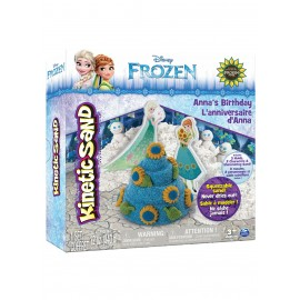 Kinetic Sand Disney Frozen Playset Anna e Elsa - sabbia modellabile - l'originale -