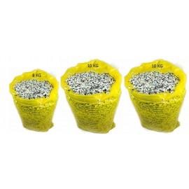coriandoli in sacco 10 kg , CORIANDOLI - CONFETTI - CONFETI - KONFETTI , 2 PZ 10 KG + 1 PZ 8 KG TOTAL 28 KG SACCO GIALLO  immagine con contenuto del sacco variabile