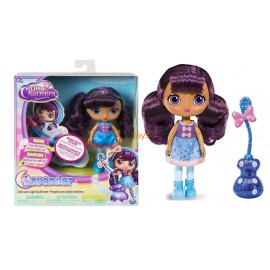 "Little Charmers, 8"" bambola  Lavender Doll with Light Up Broom con scopa che si illumina"