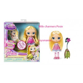 "Little Charmers, 8"" bambola Posie Doll with Light Up Broom con scopa che si illumina"