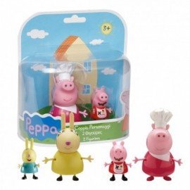 Peppa Pig Blister La famiglia Coniglio