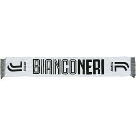 Sciarpa Juventus Juve Ufficiale JACKARD BIANCONERI Ufficiale 140 X20 CM Circa