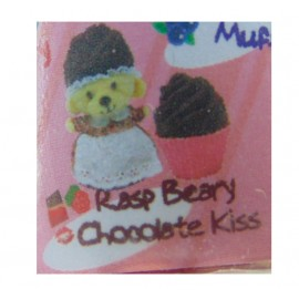 New CUPCAKE BEARS SURPRISE ORSETTO RASP BEARY CHOCOLATE KISS BASE ROSA