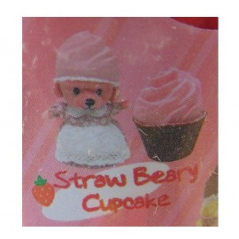 New CUPCAKE BEARS SURPRISE ORSETTO STRAW BEARY CUPCAKE