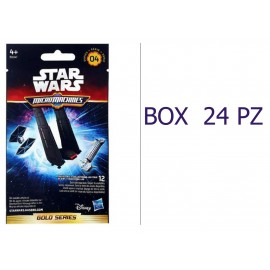 OFFERTA 24 BUSTINE STAR WARS SERIE 04 GOLD SERIES BOX INTERO