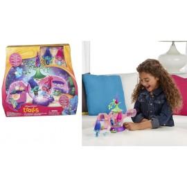 NUOVO TROLLS DreamWorks Trolls Poppy's Coronation Pod CON 2 PERSONAGGI COMPRESI B6560