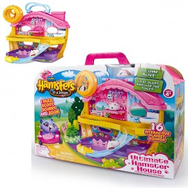 Hamsters In A House 6031573 - Peluche Playset Deluxe