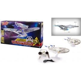 Air Hogs 6027406 - Star Trek Enterprise NAVICELLA VOLANTE COME QUELLA DEL FILM