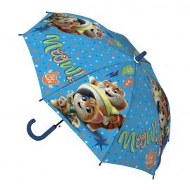 OMBRELLO 44 Gatti - apertura 72 cm RAINING KIDS materiale pvc x scuola