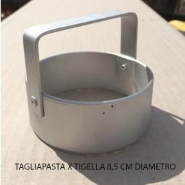NUOVO MODELLO TAGLIAPASTA DIAMETRO 8,5 CM TIGELLA TIGELLE TIPICO MODENESE