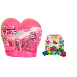 I Love VIP Pets Mini Funs - VIP Pets Gli Originali Modello concuore Fuscia + omaggio