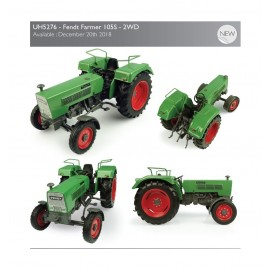 Universal Hobbies Fendt Farmer 105S – 2WD UH 5276 scala1/32