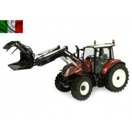 uh 6206 Universal Hobbies - New Holland T5.120 CENTENARIO  terra cotta con caricatore frontale  SCALA 1/32 uh 6206
