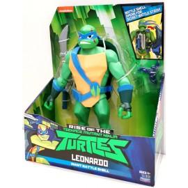Turtles Giant Battle Shell Leonardo 81450 81455 - Tartaruga Ninja Leonardo Gigante 30 cm con guscio segreto x armi