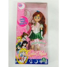Sailor Moon - Bambola Sailor Jupiter da collezione  25 cm circa di Giochi Preziosi