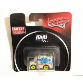 MATTEL SRL FKL39 CARS MINI RACERS MODELLO DR. DAMAGE - DR. ESTRAGOS - FMV81 METAL …