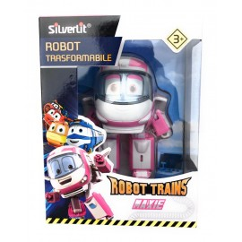 ROBOT TRAINS - MAXIE  ROBOT TRASFORMABILE DI ROCCO GIOCATTOLI