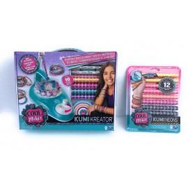 Cool Maker - Macchina per Braccialetti KumiKreator di Spin Master + 1 BLISTER RICARICHE PER UN REGALO COMPLETO