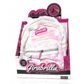 Girabrilla Mini backpack colore Bianco con effetto rosa come si vede da foto - originale di Nice