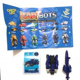 Kart Bots Kartbots Kar Tbots Trasforming Robots (Kartbots Demon)L'ORIGINALE