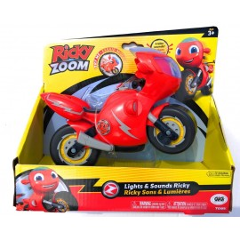 Nuovo Ricky Zoom - Richy Zoom personaggio giocattolo con Luci e Suoni compreso di batteria cod rcy 04000