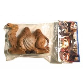 Christmas Cammello in plastica Seduto per presepe Natalizio cm 13