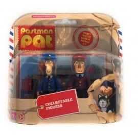 -Set 2 Personaggi Pat Il Postino - Pat E Ayaj