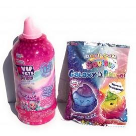 I Love VIP Pets - 2° serie VIP Pets Glitter Twist Gli Originali Modello con beccuccio Rosa Glitterato collezzionabile  + Omaggio Come Foto