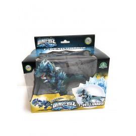 Dinofroz Dragons Collezzione personaggio T-REX LUNARIS Alto 10 cm