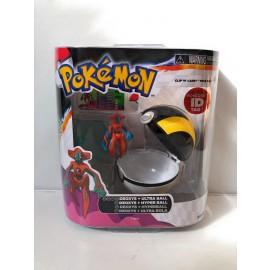 Pokemon Clip N Carry Pokeball DEOXYS + POKE BALL