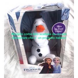 Disney Frozen Olaf Interattivo 30 cm PRODOTTO ITALIANO