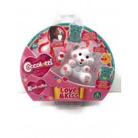 Nuovi COCCOLOTTI Love E Kiss BEARABLE Bears Modello Fancy Originale