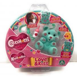 Nuovi COCCOLOTTI Love E Kiss BEARABLE Bears Modello Tommy Originale