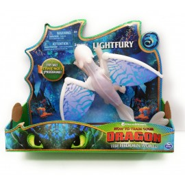 Dragons, Dragon Gigante articolato lightfury, Furia Bianca