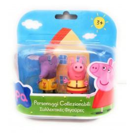 Peppa Pig - Coppia Personaggi Emily Elefante e Peppa Pig