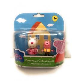 Peppa Pig - Coppia Personaggi Suzy Pecora e George di Giochi Preziosi CCP02821