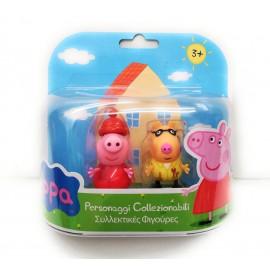 Peppa Pig - Coppia Personaggi Pedro Pony e Peppa Pig