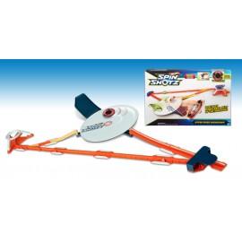 Mattel Y0097 - Nuova Hot Wheels Spinshotz Pista Centrifuga
