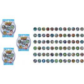 Yo-Kai - Espansioni x orologio yo kai offerta 3 bustine ogni bustina contiene 3 medaglie